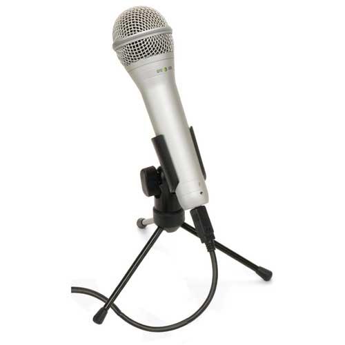 Microfoon met usb aansluiting