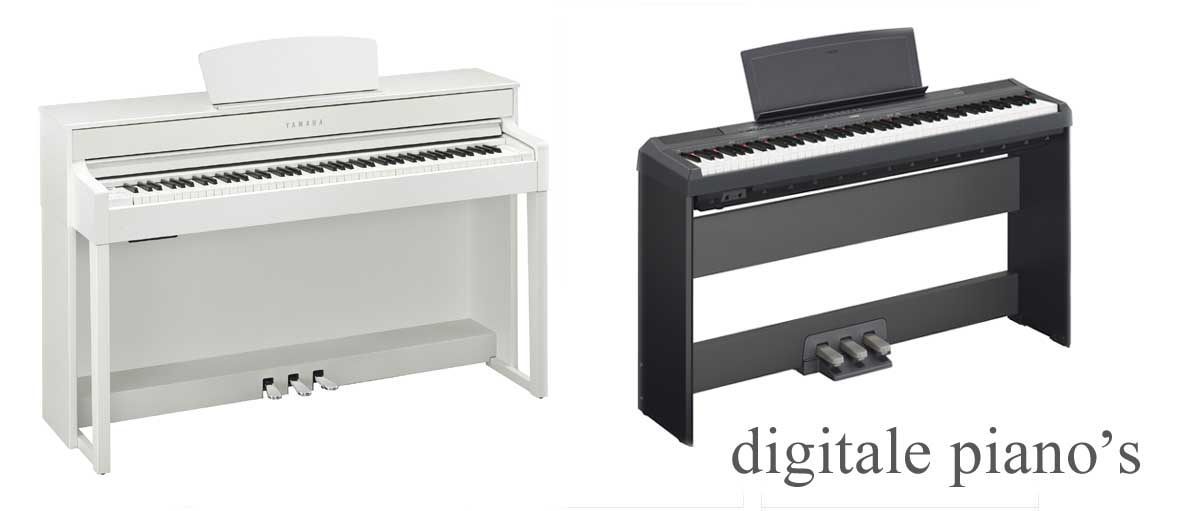 Klik voor digitale piano's ..