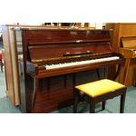 Grotrian-Steinweg piano 110cm donker noten