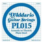 D'addario D-PL-015 gitaarsnaar staal