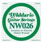 D'addario DNW-026 nickel round wound .026 snaar