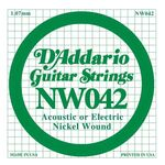 D'addario DNW-042 nickel round wound .042 snaar