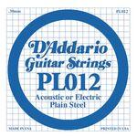 D'addario D-PL-012 gitaarsnaar staal