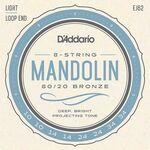D'addario J-62 mandoline snarenset