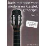 Basis methode modern en klassiek gitaarspel. Deel 1 Otto-Wolthuis