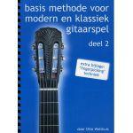 Basis methode voor Modern en klassiek gitaarspel. Deel 2 Otto-Wolthuis