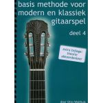 Basis methode voor Modern en klassiek gitaarspel. Deel 4 Otto-Wolthuis