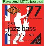 Rotosound Jazz Bass RS-77-S snarenset basgitaar