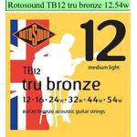 Rotosound TB12 Tru Bronze snarenset akoestisch