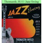 Thomastik JS111 Jazz Swing snarenset elektrisch gitaar
