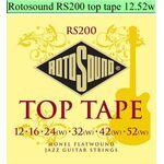Rotosound RS200 Top Tape snarenset elektrisch Jazz