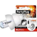 Alpine PartyPlug oordoppen wit
