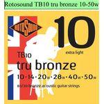 Rotosound TB10Tru Bronze snarenset akoestisch