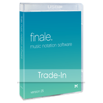 Finale 25 Trade-Up van PrintMusic
