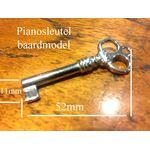 Piano sleutel baard model