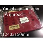 Yamaha pianoloper T1100060 wijnrood 1240x150mm