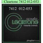 Cleartone 7412 phosphor bronze 012-053 akoestisch gitaarsnaren