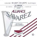 Harpsnaar J 22, A, 4e octaaf, plain KF, 1,50mm, lengte: 1,5 meter