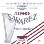 Harpsnaar J 24, F, 4e octaaf, plain KF, 1,72mm, lengte: 1,5 meter