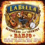 La Bella L-730-m 5-snarige banjo snaren 011-013-015