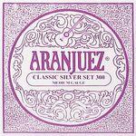 Aranjuez 300 set klassiek gitaar snaren classic silver