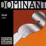 Thomastik 132 vioolsnaar 4/4 D-3 W dominant light perlon aluminium