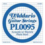 D'addario D-PL-009.5 gitaarsnaar staal