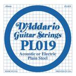 D'addario D-PL-019 gitaarsnaar staal