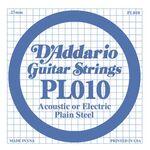 D'addario D-PL-010 staal gitaarsnaar staal