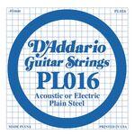 D'addario D-PL-016 gitaarsnaar staal