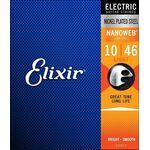 ELIXIR 12052 Nanoweb Light .010/.046w elektrisch gitaarsnaren