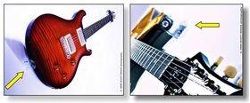 Woodies hanger - ultieme gitaarbeugel