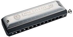 Hohner discovery 48 chromatische mondharmonica
