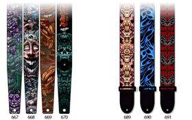 Gitaarband tattoo 667 - 3.5 inch / 2.5 inch