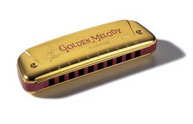 Hohner Golden Melody 543/20 mondharmonica