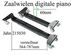 Zaalwielen digitale piano 564-787mm
