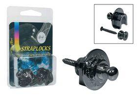 Boston straplock security lock zwart chroom