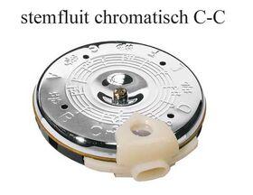 Chromatische stemfluit C-C
