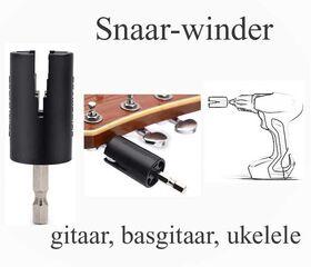 Snaar-winder gitaar-basgitaar-ukelele