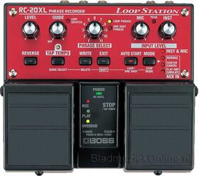 Boss RC-20XL loopstation twin pedal