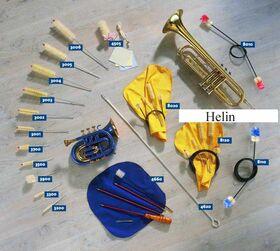 Helin trompet mondstukwisser groot 3004