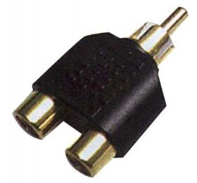 Stagg AC-2CFCMH 2 DUAL FEMALE RCA/M RCA ADAPTER