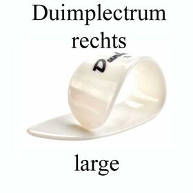 Dunlop duimplectrum rechts large