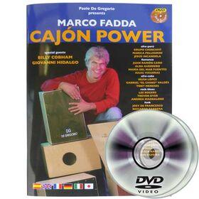 DG CAJON Marco Fadda / Cajon Power boek + 2 dvd's