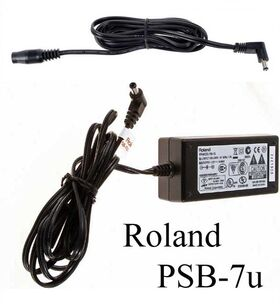 Roland PSB-7u adapter + conversion cable + stroomkabel