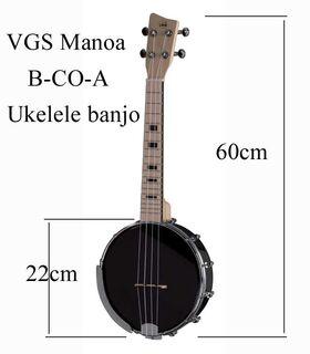 VGS Manoa B-CO-A banjo ukelele