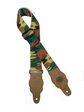 Gitaarband camouflage-patroon