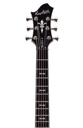 Hagstrom ultra swede electrische gitaar zwart hoogglans