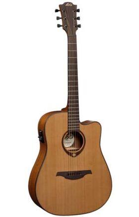 LAG T-200DCE western gitaart Semi-akoestisch