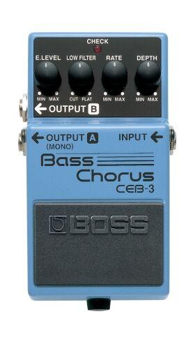 Boss CEB-3 bass chorus effectpedaal